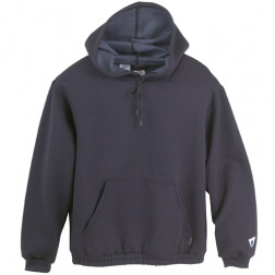 9.5 oz Nomex IIIA Fleece Pullover Hooded Sweatshirt