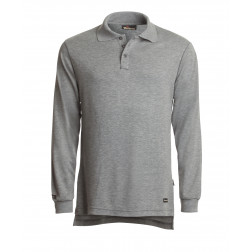 6.7 oz Tecasafe Long Sleeve Polo