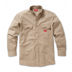 Dickies Flame Resistant Long Sleeve Twill Shirt