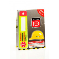 HARD HAT I.D MULTI-LANGUAGE (100 count box)