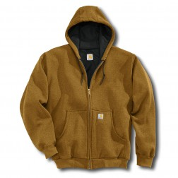 Carhartt Men's Thermal Lined Hooded Zipper Sweatshirt