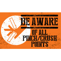 Be Aware - Crush / Pinch Points