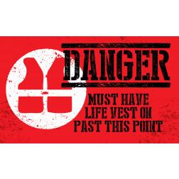 Danger - Life Vest