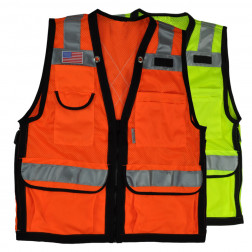 Custom 10 pocket breakaway vest