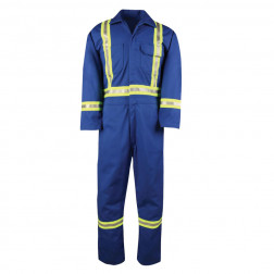 Class III Unlined Work Hi Vis Coverall