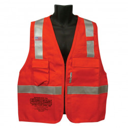 Class II FR Hotwork & Electrical Vest - 7 oz.