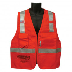 Class II FR Hotwork & Electrical Vest - 9 oz.