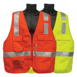 Class II 5 Point Tear Away FR Vest