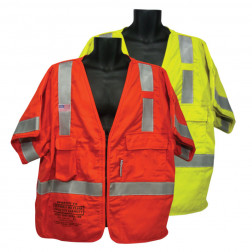 Class III 5 Point Tear Away FR Vest