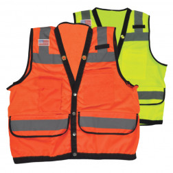 Class 2 heavy duty surveyor safety vest