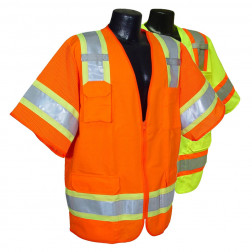 Two tone surveyor class 3 vest