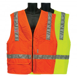 All mesh 5 pocket foremans Vest