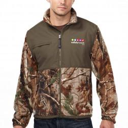 Frontiersman Anti-pilling Micro Fleece Camo Jacket
