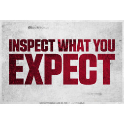Inspect What You Expect