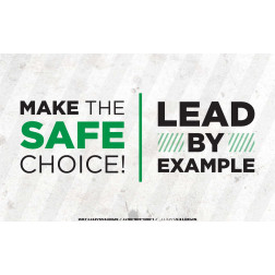 Make the Safe Choice - Lead by Example