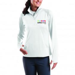 Ladies Sport-Wick Stretch 1/2-Zip Pullover