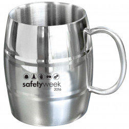 14 OZ STAINLESS STEEL BEER MUG