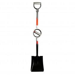 Bosse Tools Square Point Shovel