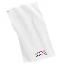 Grommeted Microfiber Golf Towel