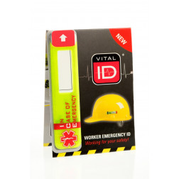 HARD HAT I.D NEW VERSION (100 count box)