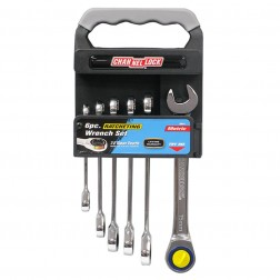 6 pc Ratcheting Wrench Set Metric