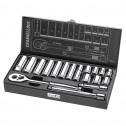 "18pc 3/8"" DR Metric Set"