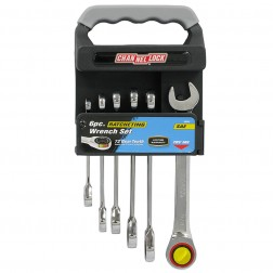 6 pc Ratcheting Wrench Set SAE