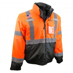 THREE-IN-ONE DELUXE HI-VIZ BOMBER JACKET