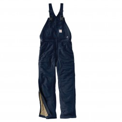 Carhartt Flame-Resistant Duck Bib Overall/Quilt-Lined