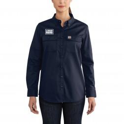 Carhartt Women's Flame-Resistant Rugged Flex¨ Twill Shirt