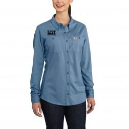Carhartt Women's Flame-Resistant Force Cotton Hybrid Shirt