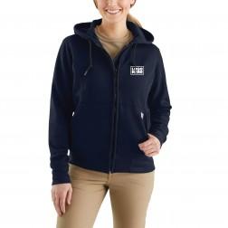 Carhartt Women's Flame-Resistant Heavyweight Hooded Zip-Front Sweatshirt