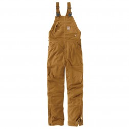 Carhartt Flame-Resistant Quick Duck¨ Bib Overall/Quilt-Lined