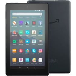 Amazon Fire 7 16GB Tablet  + Leather Cover