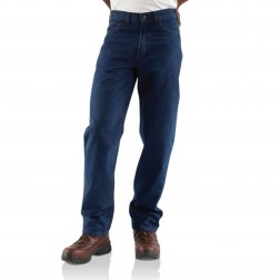Carhartt Flame-Resistant Signature Denim Jean-Relaxed Fit