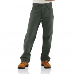 Carhartt Flame-Resistant Midweight Canvas Pant-Loose Fit