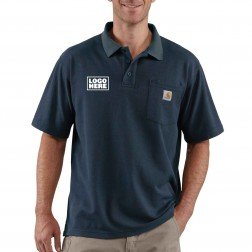 Carhartt Loose Fit Midweight Short-Sleeve Pocket Polo