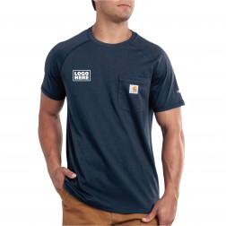 Carhartt Force Cotton Delmont Shirt Sleeve T-Shirt