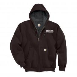 Carhartt Men's Thermal Lined Hooded Zipper Sweatshirt
