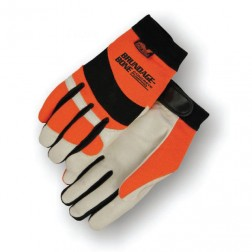 HiVis Orange Mechanics Gloves
