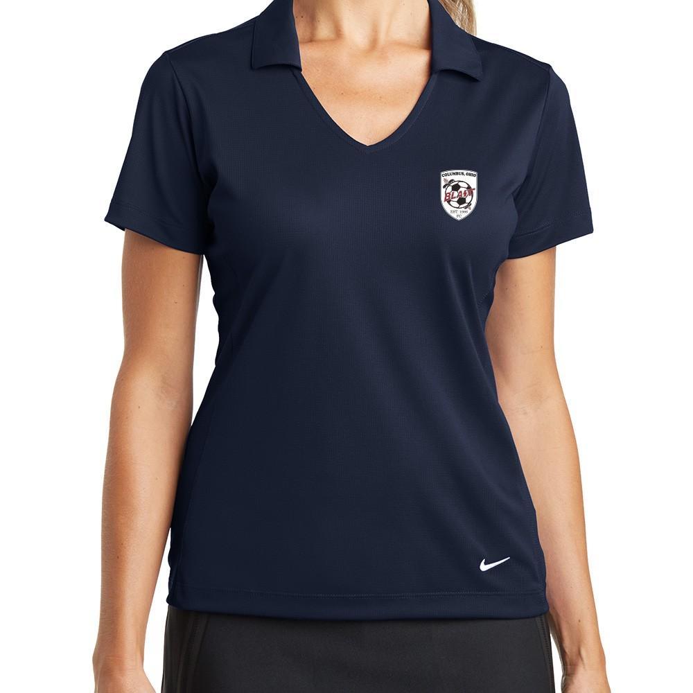 c300f8985 Nike Golf Ladies Dri-FIT Vertical Mesh Polo - Polos - Ladies